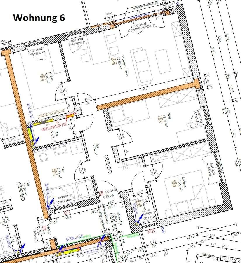Erstbezug mit Balkon: exklusive 3-Zimmer-Wohnung in Ingolstadt - Gerolfing in West (Ingolstadt)