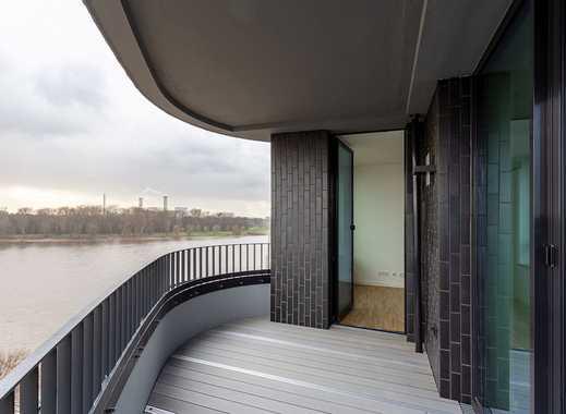 Komfortable 3-Zimmer-Wohnung mit Top-Ausstattung direkt am Rhein