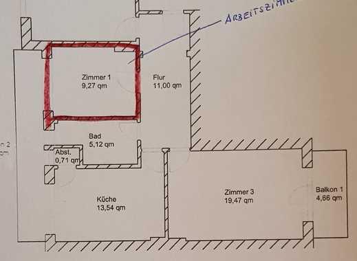 Schöne Drei-Zimmer-Wohnung in Wedel mit 2 Balkonen