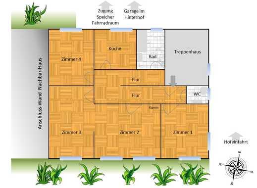 Wohnung mieten in moosach immobilienscout24 for 4 zimmer wohnung munchen