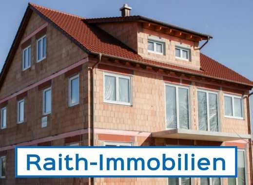 Neubau in Monheim/Nähe Donauwörth: Großzügiges 3-Parteienhaus zur Eigennutzung/Kapitalanlage