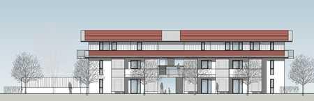 Erstbezug: stilvolle 3-Zimmer-DG-Wohnung mit EBK und Balkon in Aschheim in Aschheim