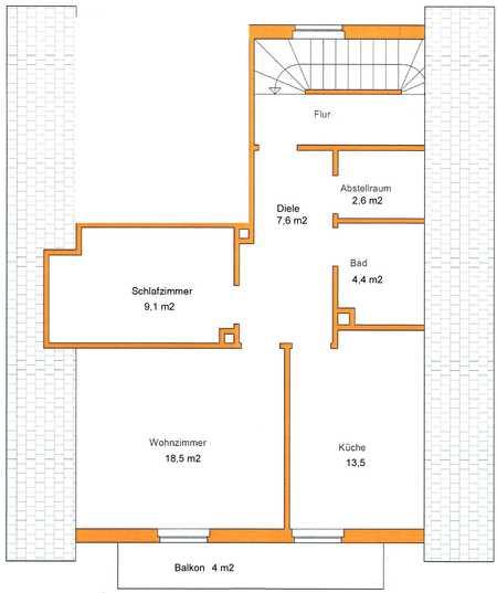 Erstbezug nach Sanierung mit Balkon: freundliche 2,5-Zimmer-DG-Wohnung in Westendorf in Westendorf (Augsburg)