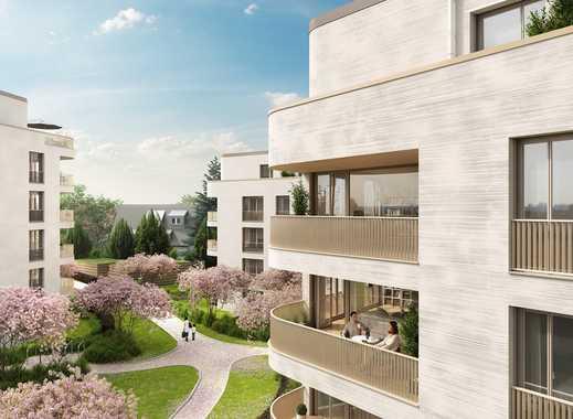 Neubau-Wohnen im Hainbrunnenpark: 4-Zimmer-Wohnung mit Loggia im 1. OG!