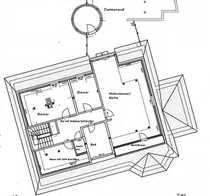ein Wohntraum riesige Dachterrasse mit
