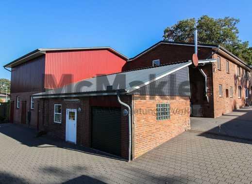 Ideal für Gewerbe! Ensemble aus 2 Wohn-/Bürogebäuden und Lagerflächen auf ca. 6.420 m² Grundstück
