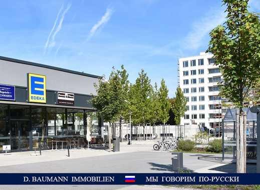 Erstbezug! Ansprechende 2 Zi. Wohnung mit Loggia, grüne Lage, Top Infrastruktur, S2 – 200 m ….