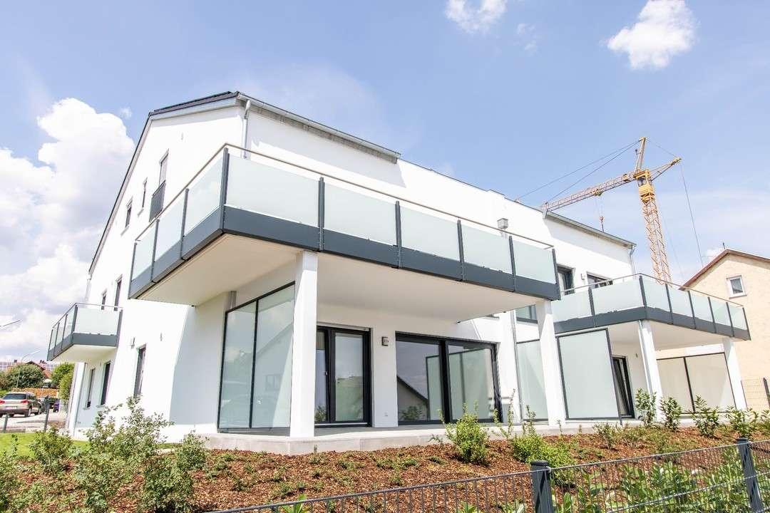 Erstbezug: Top moderne 4-Zimmer-Neubauwohnung in Hepberg  in Hepberg