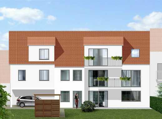 Neubau: Großzügige Wohnung mit Balkon