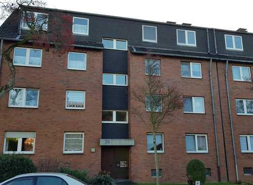 Günstige, vollständig renovierte 3,5-Zimmer-DG-Wohnung mit Balkon in Gelsenkirchen-Erle