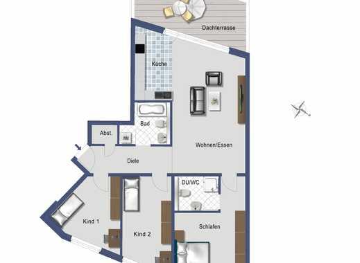 Penthouse-Wohnung mit 4,5 Zimmer für Liebhaber