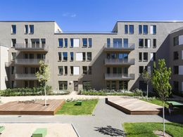 Innenhof Block A 4