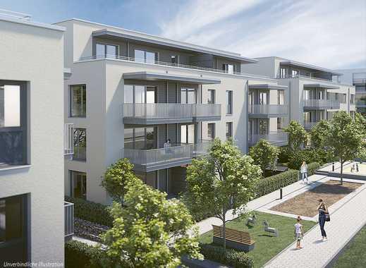 Familienwohnung mit modernem Wohnkomfort, 2 Bädern und Süd-West-Balkon in familienfreundlicher Lage