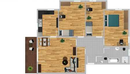 4-Zimmer-Wohnung mit Balkon in Malgersdorf in Malgersdorf