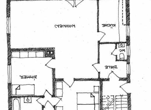 Nachmieter gesucht für schöne drei Zimmer Wohnung mit kleinem Vorgarten