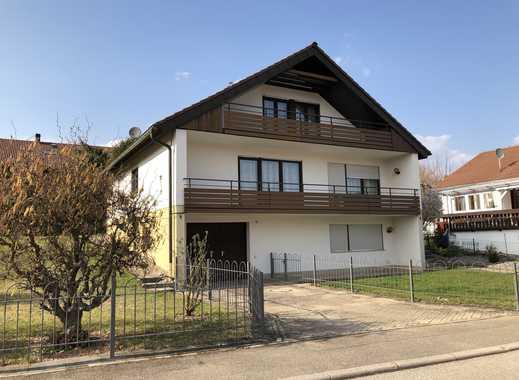 3,5 Zimmer–Wohnung mit großem Balkon und Garten