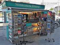 Kiosk - hoch frequentiert in zentralster
