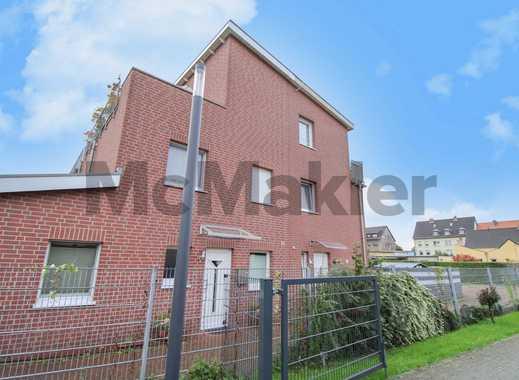 Familienidyll: Moderne, gepfl. 5-Zi.-DHH mit Balkon, Terrasse & Garten in familienfreundlicher Lage