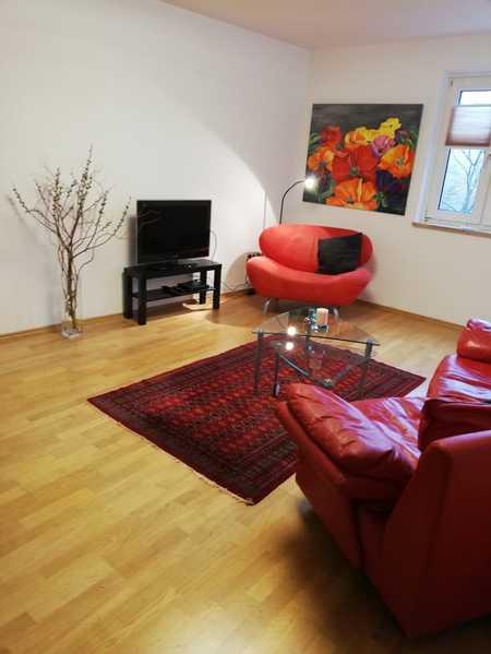 Helle 3-Zimmer-Wohnung,  möbliert oder unmöbliert mit EBK und Balkon in Bogenhausen in Bogenhausen (München)