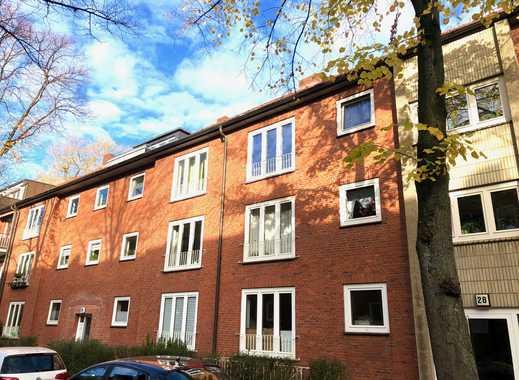 Vermietete 3-Zimmer-Wohnung im gepflegten Zustand in Barmbek-Süd