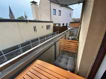 Großes Appartement mit Balkon Bad