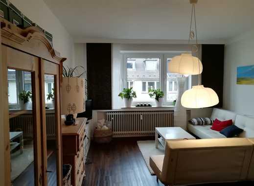 Gut geschnitten 2-Zimmer-Wohnung mit Balkon & EBK in Düsseldorf Pempelfort