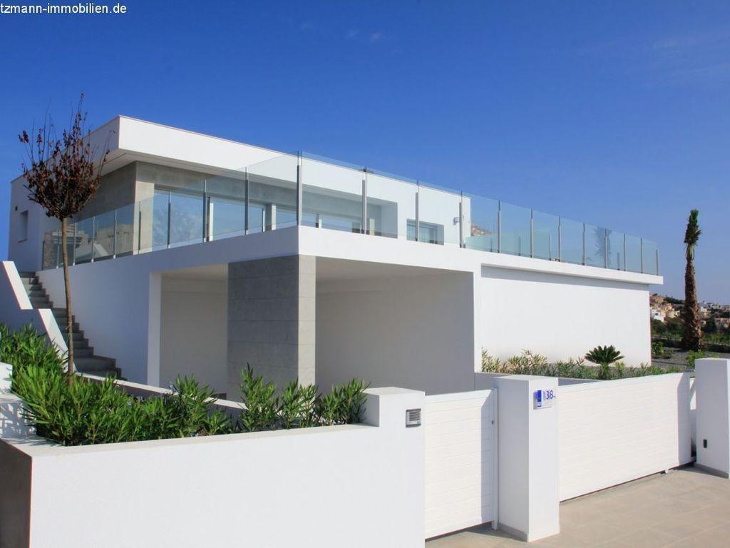 Costa Blanca, Moderne Neubau-Villa -LIRIOS Design-Modell Santorini ...