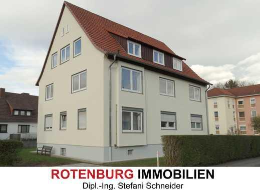 Sanierte 4-Zi-Wohnung (DG), Innenstadtlage von Rotenburg - Erstbezug