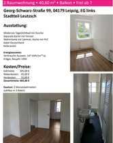 Schöne 2-Zimmer-EG-Wohnung mit Balkon in