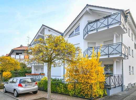 Mühlheim/Lämmerspiel:Tolle, lichtdurchflutete 3 Zimmer-Wohnung mit Süd-Balkon in ruhiger Wohnlage