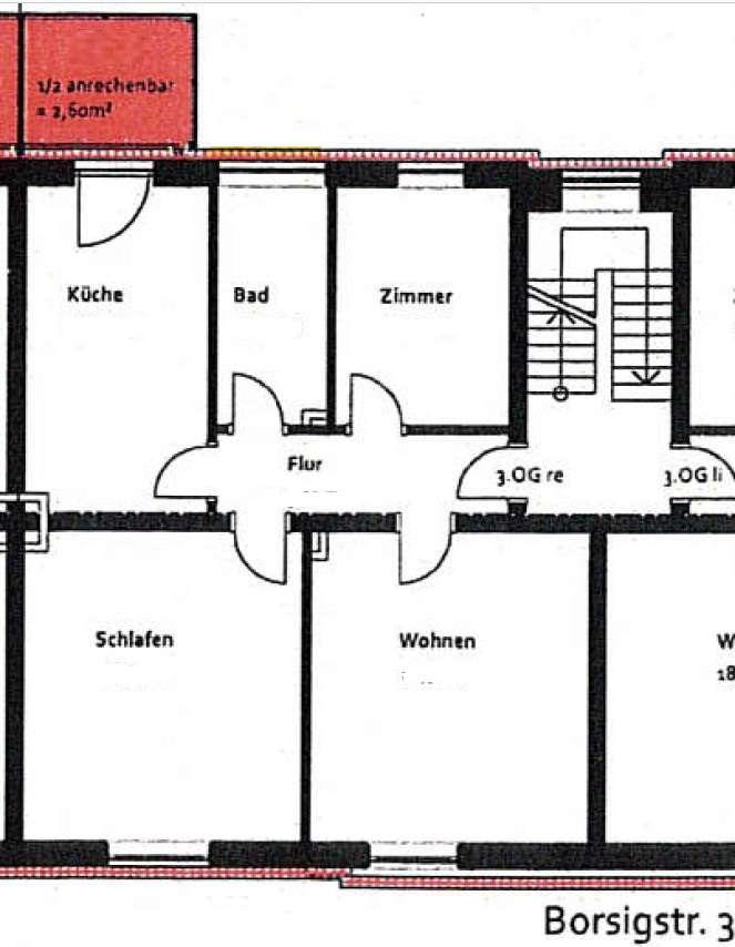 Gut und sicher wohnen - 2,5-Zimmer-Wohnung mit Balkon in Ludwigsfeld