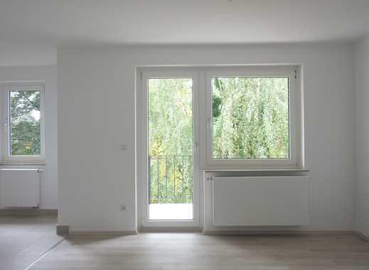 Erstbezug nach Sanierung mit Balkon und Garten: helle 3-Zimmer-Wohnung am Sedansberg