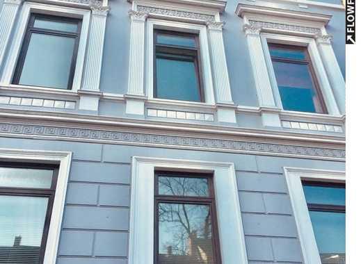 TOPLAGE! Renovierte 3-Zi-Wohnung mit Einbauküche, Gartennutzung und super Aussicht in Innenstadtnähe