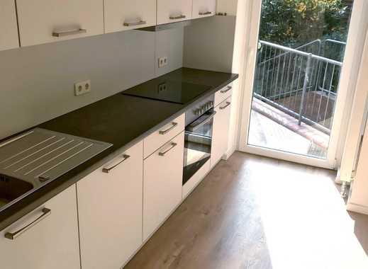 Frisch saniert: Wunderschöne 4-Zimmer Wohnung im Zentrum + Garten, Terrasse & Balkon + neue Küche