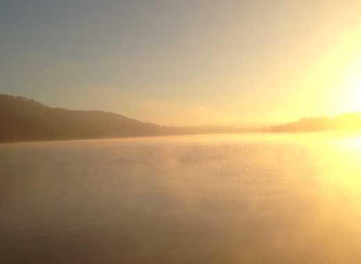 Baldeneysee: Bauwagen am See auf Wassergrundstück EXCLUSIV