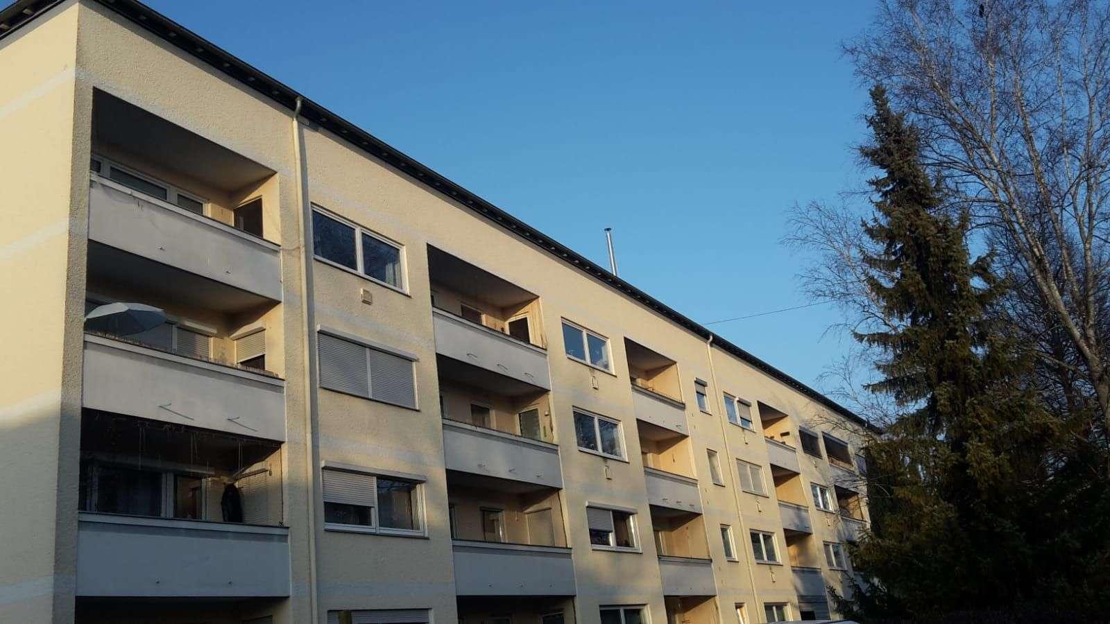 1-Zimmer-Apartement mit Balkon und EBK in Rosenheim Mitte in Rosenheim-Ost (Rosenheim)