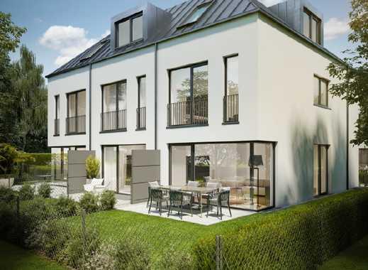 Modernes Neubau-RMH, real geteiltes Grundstück, ruhige, grüne Wohnlage, 15 Radmin. zum Marienplatz!!