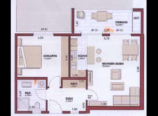 Möblierte 2-Zimmer-EG-Wohnung mit schöner Terrasse, eigenem Garten und EBK in Porz, Köln