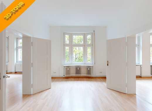 Holzhausenviertel - Wunderschöne 6-Zimmer-Komfort-Wohnung - renoviert - 3D-Tour