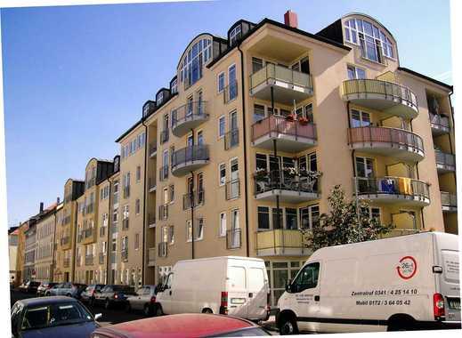 Schöne 1-Raum-Neubau-Wohnung mit EBK, Balkon und Tiefgarage in Leutzsch