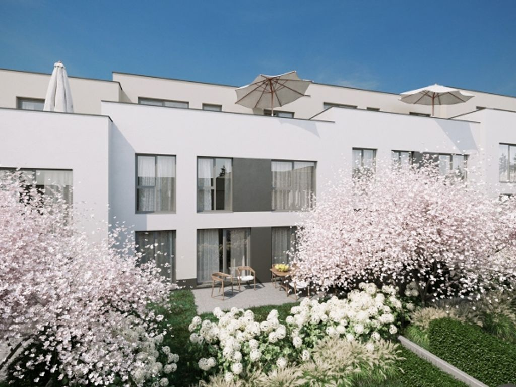 Gartenhofhaus Endhaus - cooles Design auf 3 Etagen