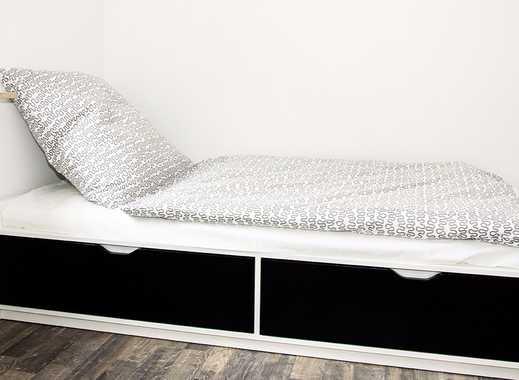 sofort frei. Ideal als Zwischenlösung. Möbliert, löffelfertige 1-Zimmerwohnung inkl. Internet und TV