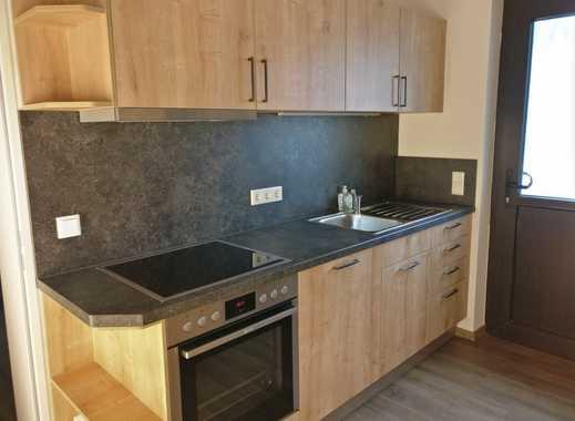 Ende 2018 modernisierte 2,5-Zimmer-EG-Wohnung mit EBK, Balkon, WC, Kellerabteil in Wassertrüdingen