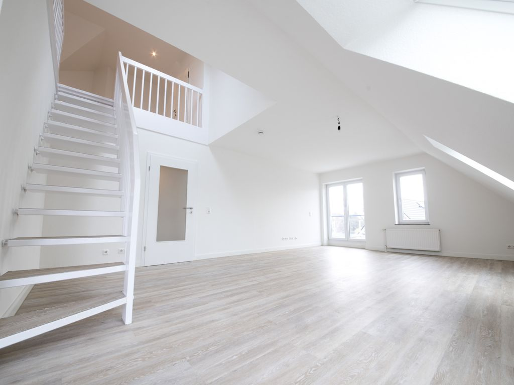 Treppe zur zweiten Ebene