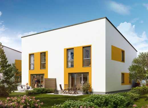 Wohlfühlwohnen! Doppelhaushälfte mit großem Garten in schöner Landschaft