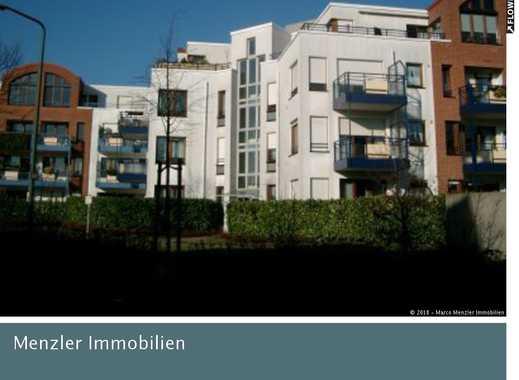 Smarter Wohnen! Top gepflegtes Appartement im EG mit kl. Garten im Zentrum von D-Hassels!!!