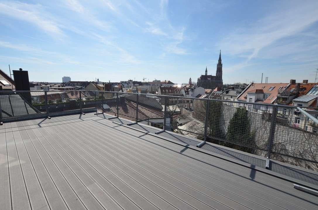 Individuell & chic: luxuriöse Dachterrassenwohnung in charmanter Lage von Giesing
