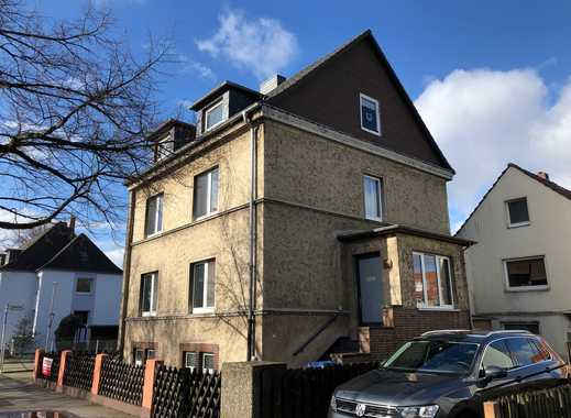HANNOVER-LEDEBURG: Mehrfamilienhaus mit 4/5 Wohneinheiten,Einbauküchen,Garagen,Stellplätzen,Garten