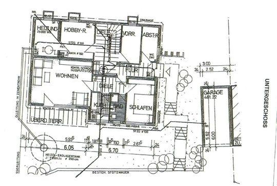 Grundriss UG - 2 Zimmerwohnung