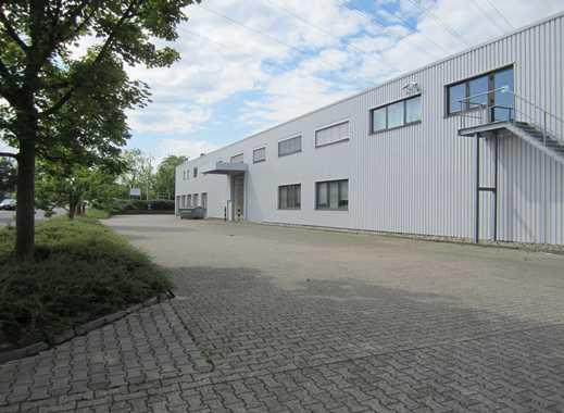 Moderne Halle für Entwicklung, Produktion und Lagerung